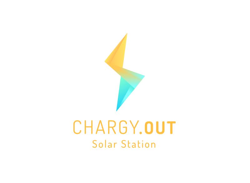 Chargy - Main logo visual identity logo design