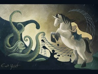 Storybook: the unicorn and the sea