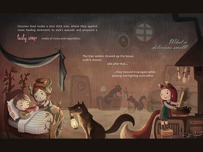 Kids Fantasy Adventure artforkids sickkid treehouse storybook intothewoods cottage childrensillustration