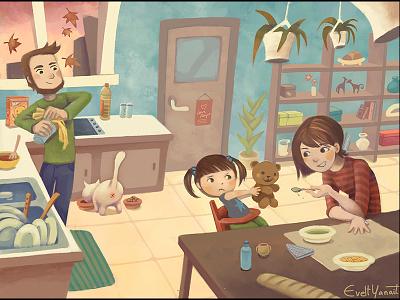 Kids And Vegetables childrenatthekitchen artforkids childrensstorybook childrensillustration parentsfeedkids feedingchildren childrenlunch childrenmeals childdoesnteat childrenvegetables kidsandvegetables