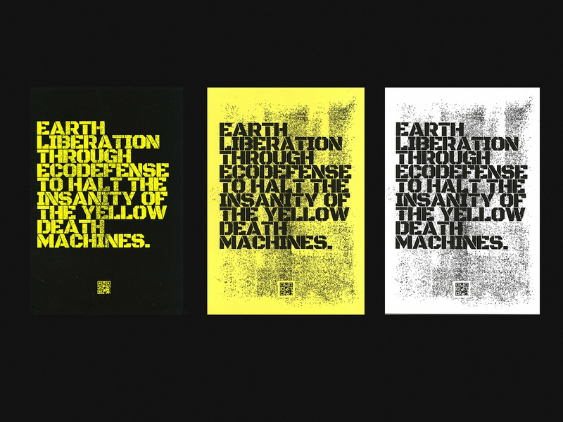 DESTROY THE MACHINES - Risograph Posters print design print riso risograph type poster design logo branding poster typography art experiment graphic design illustration illustrator design