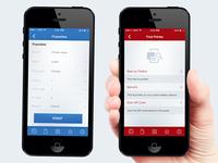 Printer Search iOS App.