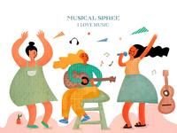 Music spree
