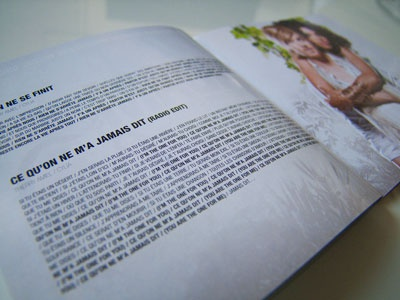 Adam & Eve album booklet