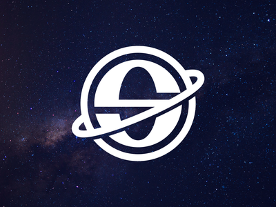 Space minimalist spaceman spaceship nasa space black white creative branding brand graphic design logos clean design logo