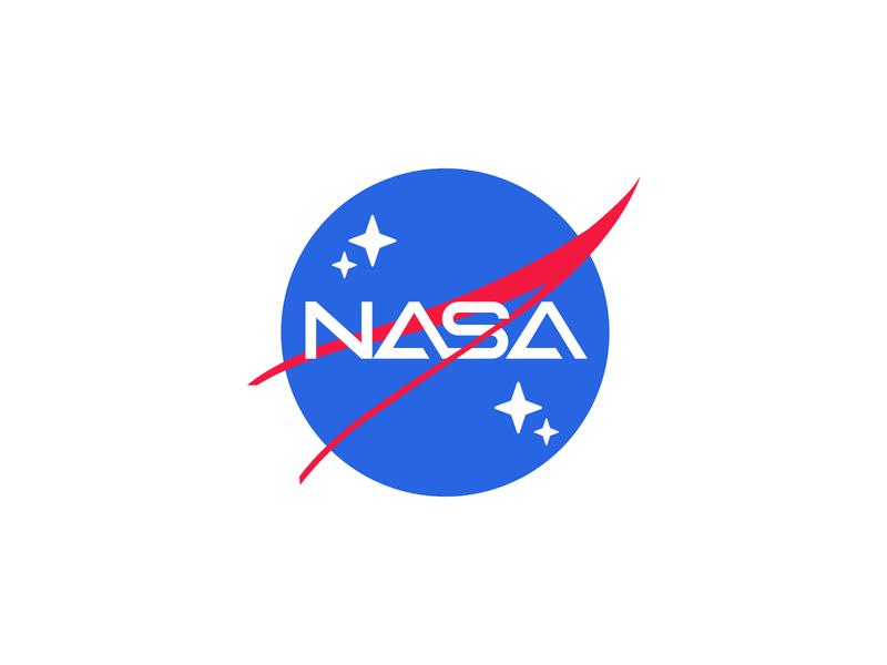 NASA rebrand proposal space nasa gaming logo gaming esports logo esports branding brand graphic design logos clean design logo