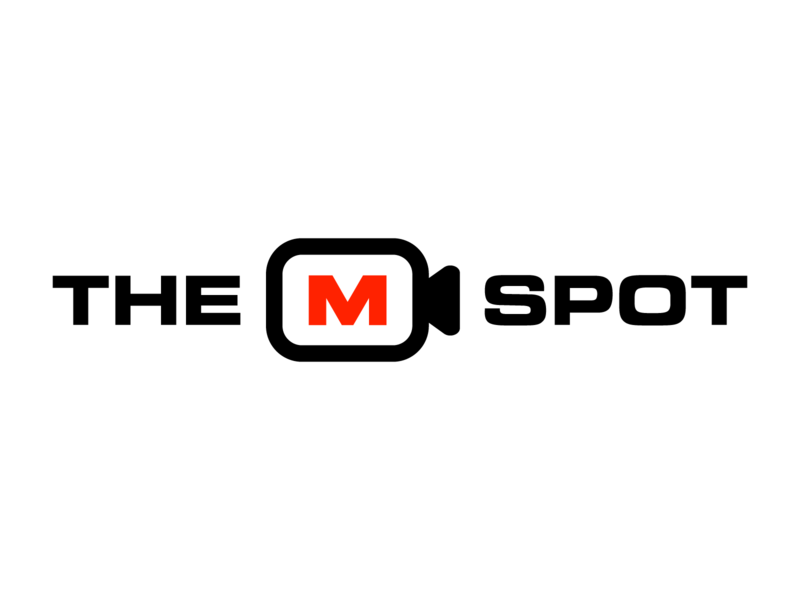 The M Spot - Multi Camera Live Event Production youtube twitch fortnite gaming logo gaming esports logo esports branding brand graphic design logos clean design logo