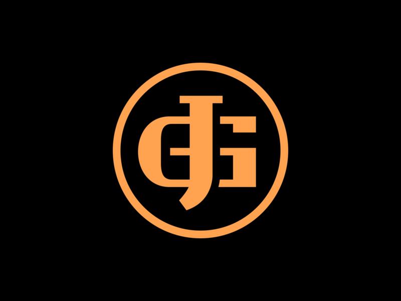 JG gradient twitch gaming logo gaming esports logo esports branding brand graphic design logos clean design logo