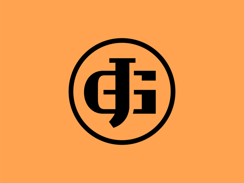 JG youtube twitch gaming logo gaming esports logo esports branding brand graphic design logos clean design logo