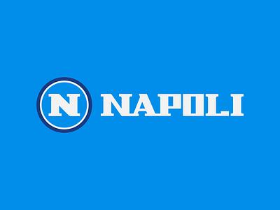 Napoli Logo Redesign (Unofficial) gaming esports logo branding esports soccer logo clean italy napoli jersey design logo premier laliga futbol football soccer