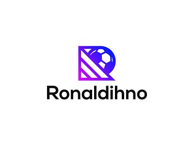 Ronaldinho // Logofolio 2020 #4 soccer logo italy brasil brazil chile gaming esports logo esports design logo manchester madrid barcelona sports footballer football soccer