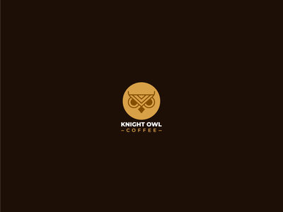 Knight Owl Coffeee coffee shop suiza brasil brazil colombia café coffee branding graphic design logos clean design logo