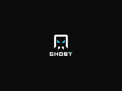 Ghost gaming logo gaming esports logo brand esports branding graphic design logos clean design logo