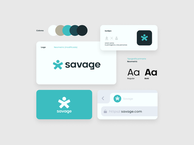 Savage (rejected concept) logos graphic design design branding nice gamer content youtube twitch esports gaming clean logo savage