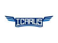 Icarus typography.