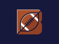 B logo alternate colors.