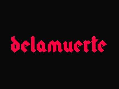 delamuerte clothing brand fashion clothing streetwear esports logo esports logos design clean logo