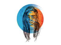 Digital Portrait - Kainat