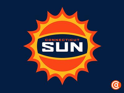 WNBA | Connecticut Sun Logo Redesign connecticut sun wnba