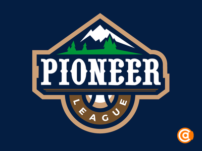 MiLB | Pioneer League Logo Redesign