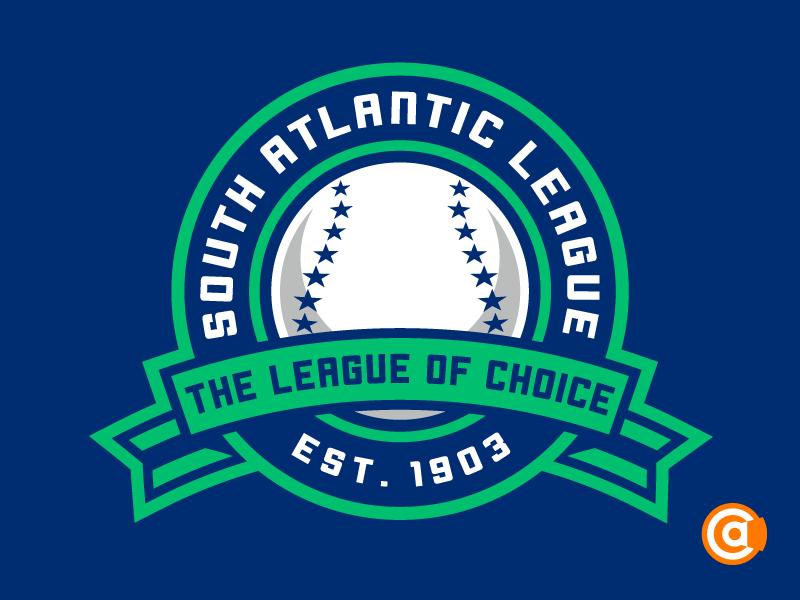 MiLB | South Atlantic League Logo Redesign south atlantic league logo milb