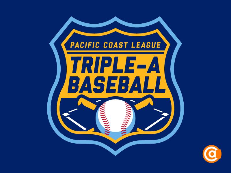 MiLB | Pacific Coast League Logo Redesign pacific coast league logo milb
