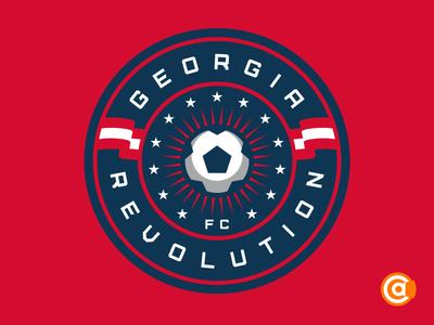 NPSL | Georgia Revolution FC Redesign