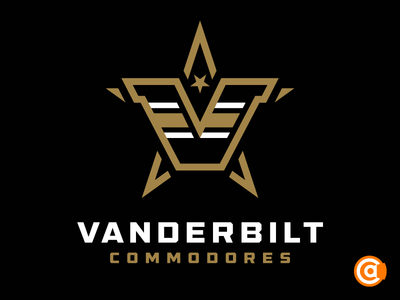 NCAA | Vanderbilt Commodores Primary Logo Rebrand