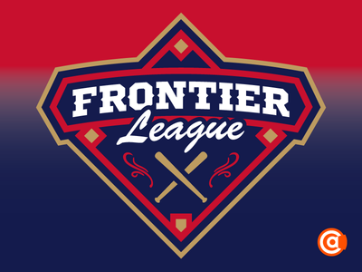 Independent Baseball | Frontier League Logo Rebrand
