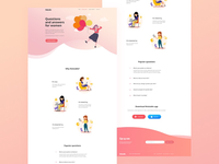 Relatable landing page redesign