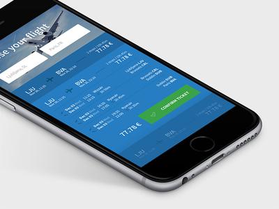 Flights flights flight airplane plane interface mobile ios ui travel trip ljubljana slovenia