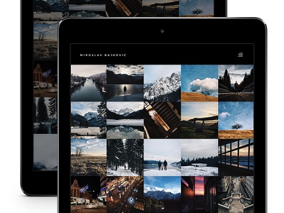 Website Instagram instagram photography mobile web ui ux website minimalistic