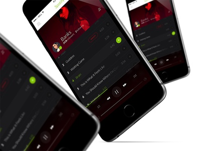 Spotify mobile #2 spotify mobile ios iphone music player playlist song