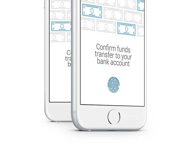 Funds funds money bank account transfer ui mobile ios