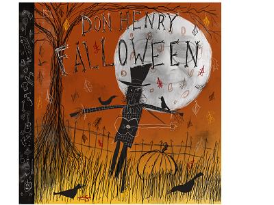 Falloween procreate art cdcover fall halloween procreate illustrator illustration
