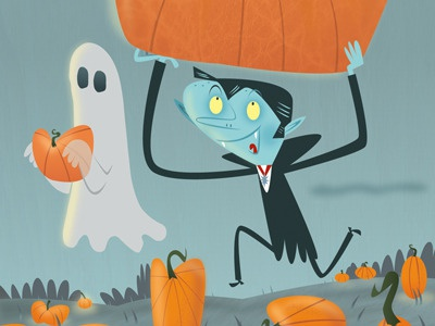 Halloween postcard low rez