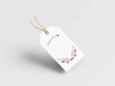Jar/ Gift Tag elegant mason jar gift modern color new adobe flat illustrator design