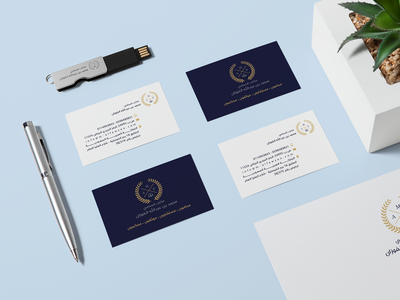 Visual Identity businesscard office identity design trend law new brand design modern branding photoshop vector flat logo adobe illustrator