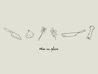 Mise en place Iconography