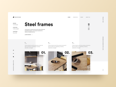 Typography UI — Project 73