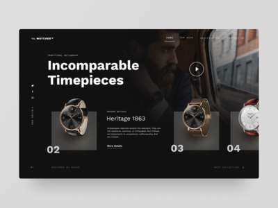 Typogrpahy UI — Project 85