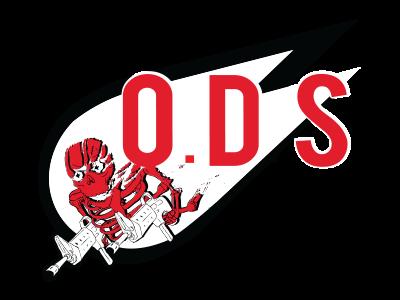 Orbital drop skelotons cool skeletons illustration logo