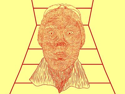 My Dumb Friends Face illustration linework bestfriend