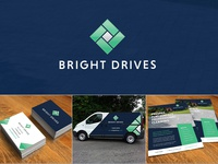 Driveway Construction and Cleaning Company - Branding and print