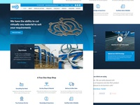 Website for Specialist Manufacturing and Cutting Company