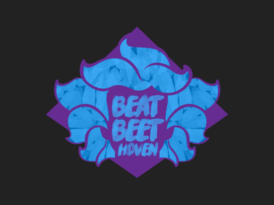 Beat Beethoven music walk run logo identity design branding race beethoven