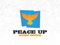 Peace Up  Guns Down