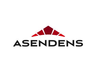 Asendens branding brand company technology corporate design identity logo