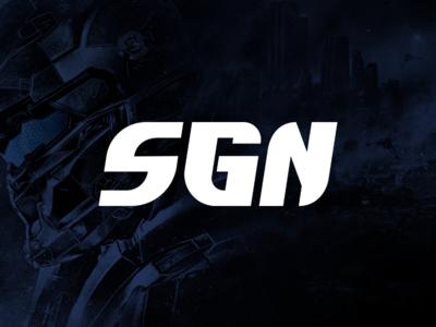 Serious Gamers Network website esports games video lettermark design identity branding brand logo gamers gamer