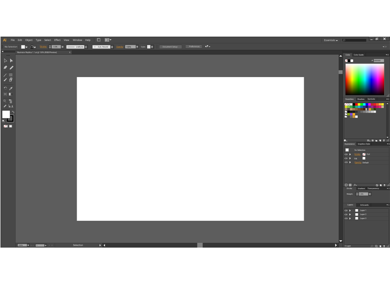 Illustrator Replica in Illustrator